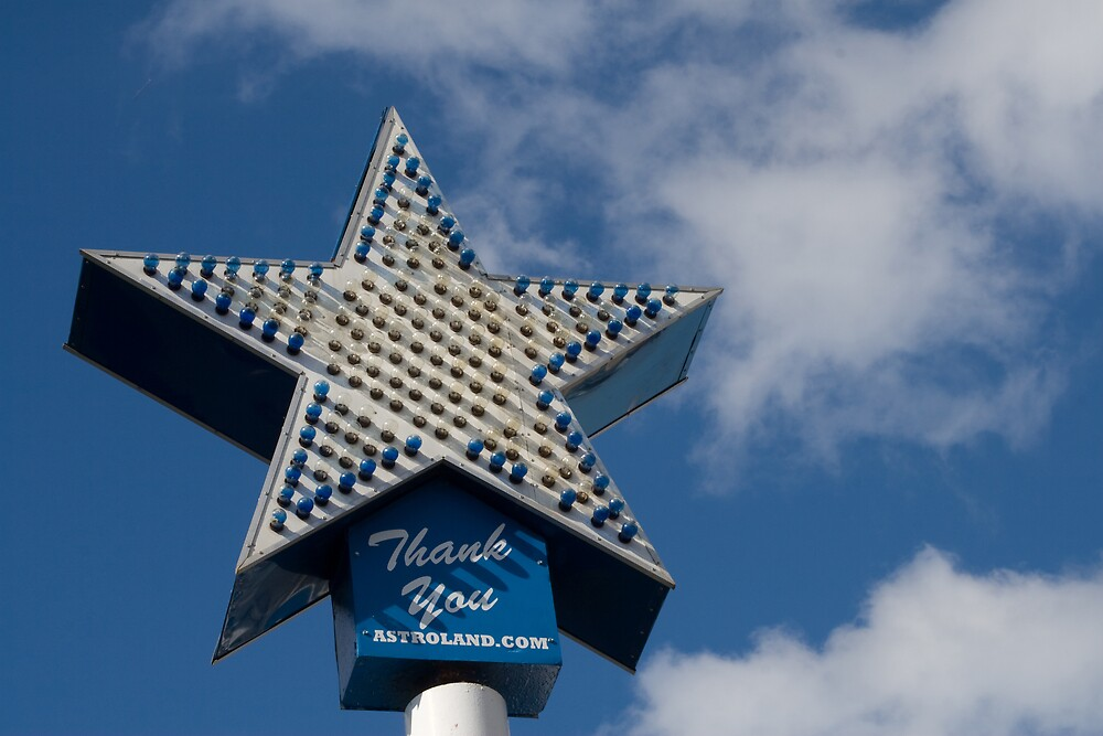 Coney Island Astroland by 64iso