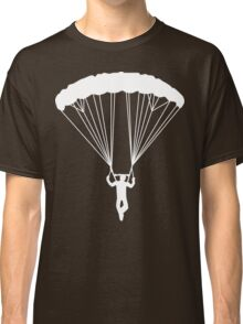 skydive silhouette Classic T-Shirt