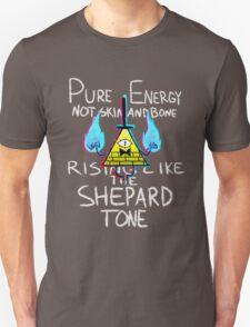 Rising like the Shepard Tone Unisex T-Shirt
