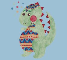 Green Dino Kids Clothes