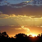 Sunset over Ballan! by TracyD