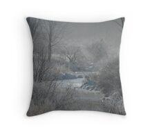 Freezing Fog Throw Pillow