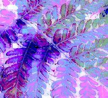 Fern in Pastel by Rebekah  McLeod
