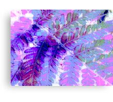 Fern in Pastel Canvas Print