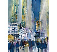 Midnight on Broadway Photographic Print