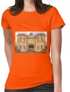 Fremantle Prison - HDR - WA Womens Fitted T-Shirt
