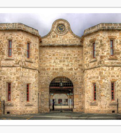 Fremantle Prison - HDR - WA Sticker