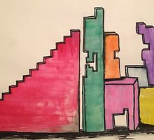 Dreamers Building Blocks  by theLadyofShalot