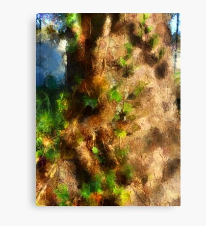 The Oak and Ivy Canvas Print