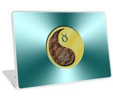 Taurus & Snake Yin Metal Laptop Skin
