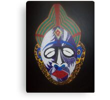 first of 5 AFRICAN PUNU MASK......24x30 Canvas Print