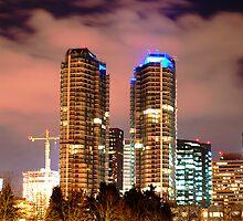 Bellevue Skyline I by Peter Nielsen