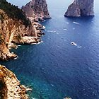 rocks of capri by dobayferenc