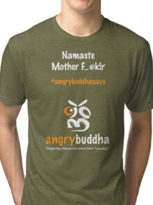 Namaste (Dark) Tri-blend T-Shirt