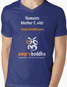 Namaste (Dark) Mens V-Neck T-Shirt