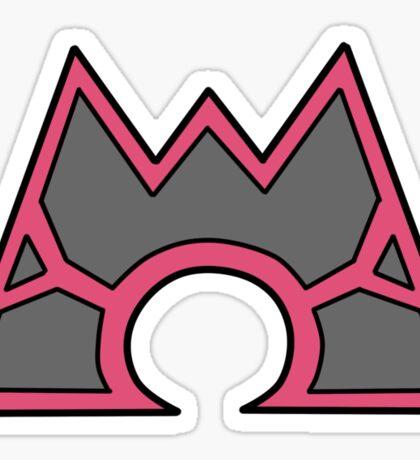Team Magma Sticker