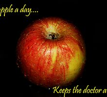 An apple a day, keeps the doctor away.. by khadhy