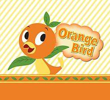 Orange Bird! by Jou Ling Yee