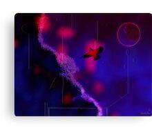O noapte pe planeta viselor Canvas Print