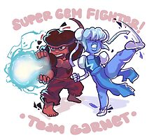 Super Gem Fighter! Team Garnet by asieybarbie