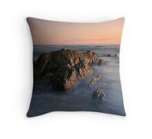Rocks of the Croajingolong Throw Pillow