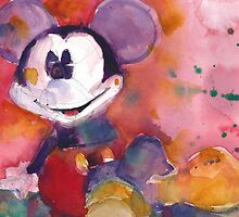 Mickey Mouse by Dorrie  Rifkin