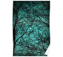 Beautiful Darkness - Half-Moon in the Trees Poster