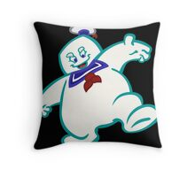 Stay Puft: Livin' EXTRA Large Throw Pillow