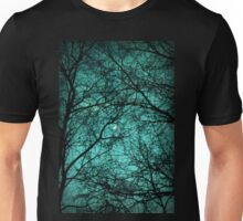Beautiful Darkness - Half-Moon in the Trees Unisex T-Shirt