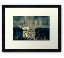 All the Pretty Engines Framed Print