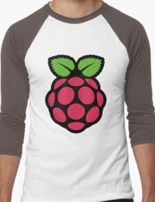 raspberry pi  Men's Baseball ¾ T-Shirt