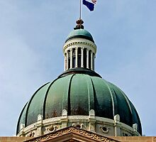 Indiana State Capitol Building - Indianapolis by Renee Hubbard Fine Art Photography