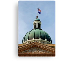 Indiana State Capitol Building - Indianapolis Canvas Print