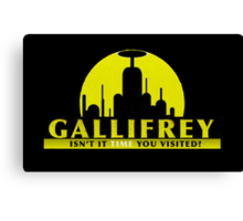visit gallifrey today...oh wait Canvas Print