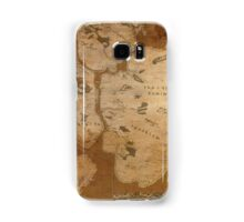 Fantasy Map of New York City: Gritty Parchment Samsung Galaxy Case/Skin