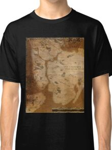 Fantasy Map of New York City: Gritty Parchment Classic T-Shirt
