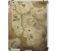 Fantasy Map of New York City: Dirty Parchment iPad Case/Skin