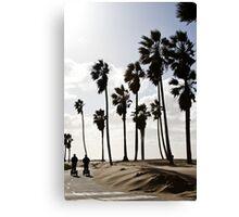Beach Travellers Canvas Print