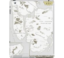 Fantasy Map of New York City: Modern iPad Case/Skin