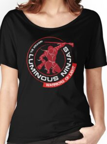 Luminous Ninjas - On Black (Clean) Women's Relaxed Fit T-Shirt