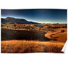 A Wide Brown Land - Capertee Valley Poster
