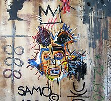 In memory Basquiat by Bela-Manson