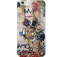 In memory Basquiat iPhone Case/Skin