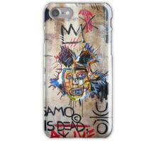 In memory Basquiat iPhone Case/Skin