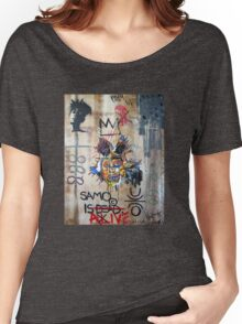 In memory Basquiat Women's Relaxed Fit T-Shirt