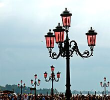 Streetlamps of Venice by Renee Hubbard Fine Art Photography