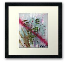 ZOMG BACON Framed Print