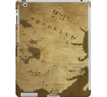 Fantasy Map of Brooklyn: Brown Parchment iPad Case/Skin