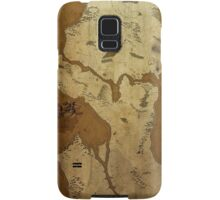Fantasy Map of Seattle: Brown Parchment Samsung Galaxy Case/Skin