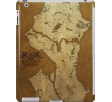 Fantasy Map of Seattle: Brown Parchment iPad Case/Skin